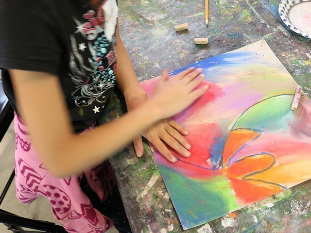 Kids' Summer Art Camp Week 6