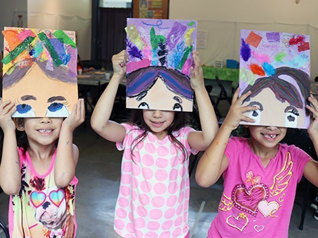 Kids' Summer Art Camp Week 9