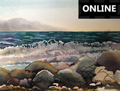 Exploring Light and Design in Watercolour - ONLINE
