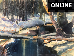 Painting Fall in Living Colour with Mixed Medium - ONLINE